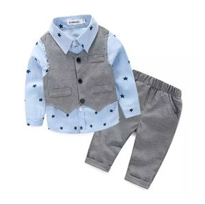 Other - Star Boys Shirt & Pants set